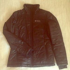 Women's black Columbia puffy jacket (S)